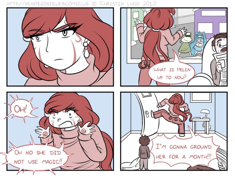 Mini Comic 3: OMG